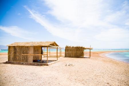 tourist huts photo