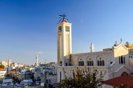 Greek Melkite Catholic Church, Bethlehem Palestine Stock Photo - 17004365