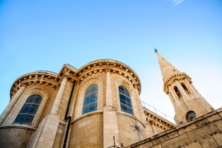 The Evangelical Lutheran Christmas Church in Bethlehem, Stock Photo - 17004429