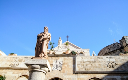 The Church of St. Catherine, Bethlehem, Palestine photo