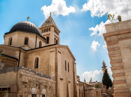 View on Lutheran Church of the Redeemer in Jerusalem photo