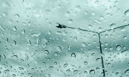 Image of rain blur
