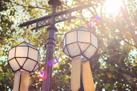 Pendant Lamp, Hanging lamp Stock Photo