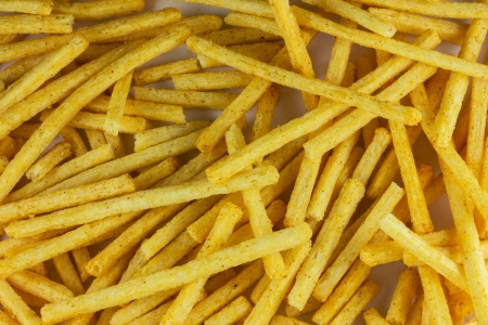 French fries and served to everyone photo