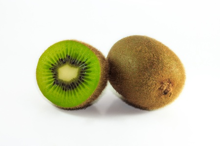 Kiwi fresh in the supermarket for your selection photo
