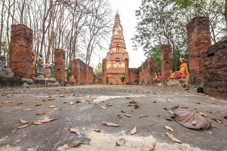 Archaeological site  Centuries-old of Thailand photo