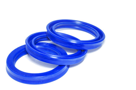 rubber gasket: Oil Seal blue chemical resistance for Industrial.