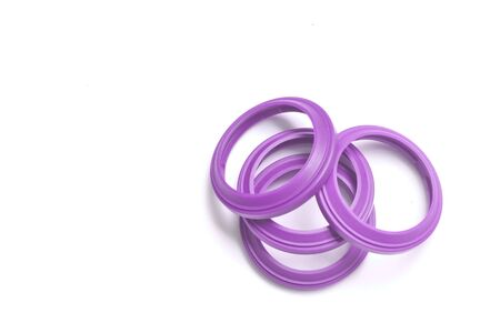 Oil Seal chemical resistance for Industrial on white background.