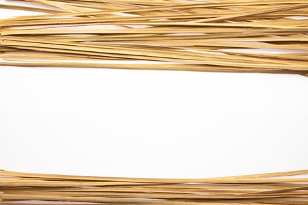 bamboo lines on white  background