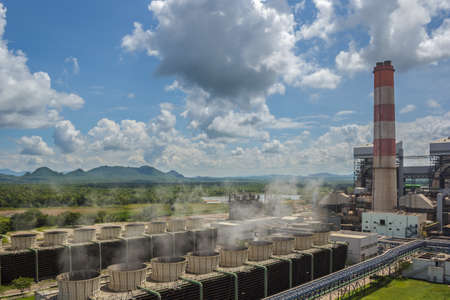 Production line in thermal power plant. Stock Photo - 22615466