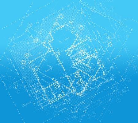 clearer: This is a picture of an architectural drawing overlaid onto a blueprint themed background. Great for a technical looking background, CD cover, or book cover. Background image appears clearer when viewed at a larger scale