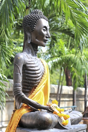 Statues of Buddha, Wat Suthat, Thailand Stock Photo - 10476602