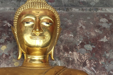 buddha in wat suthat, Arts of Thai culture photo