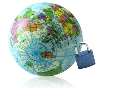 photoshop: Globes en de master key gemaakt in Photoshop