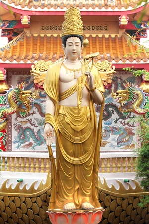 Kuan Yin in Temple China photo