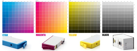 CMYK Ink color Stock Photo - 12553570