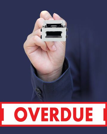 overdue: Concept is to seal OVERDUE