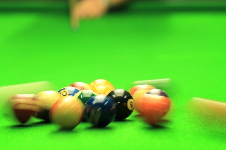 Shooting Billiards distribution photo