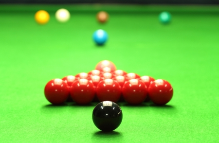 Snooker balls photo