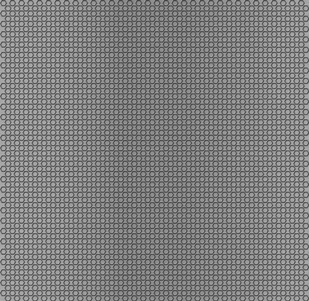 Hexagonal metal texture photo