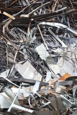 Pile of Steel scrap Stock Photo - 16727879