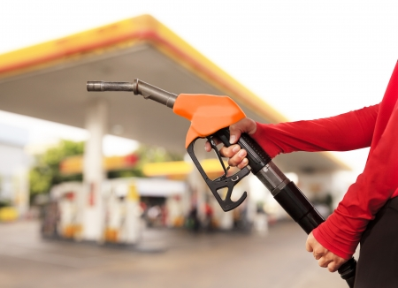 Gas Station Worker and service Stock Photo - 17381351