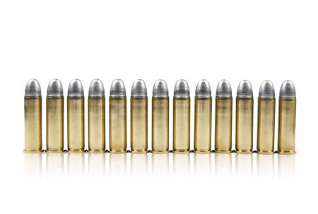 Bullets on white background with Clipping Part  Stock Photo - 17466571