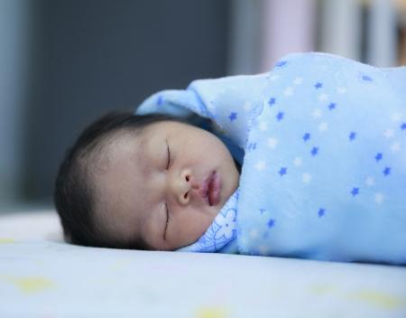 asian baby girl: Newborn baby