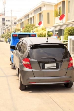 forklifts: Carts, forklifts Car accident