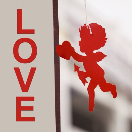 Red Cupid for Love photo