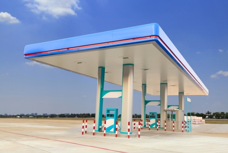 Gas Station Stock Photo - 18921762