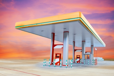 Gas Station Stock Photo - 18921824