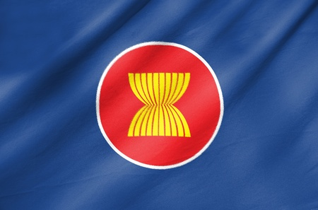 asean: Fabric Flag of Asean Economic Community