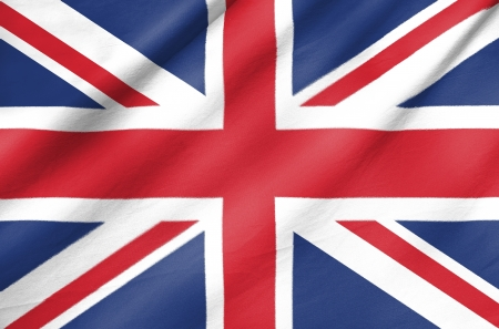 Fabric Flag of United Kingdom photo