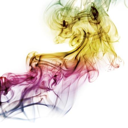 dynamic movement: Resumen de humo Foto de archivo
