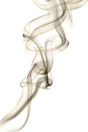 incienso: Resumen de humo Foto de archivo