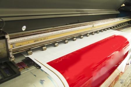 ink jet: Large format outdoor ink jet printer