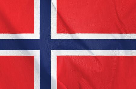 norway flag: Fabric Flag of Norway