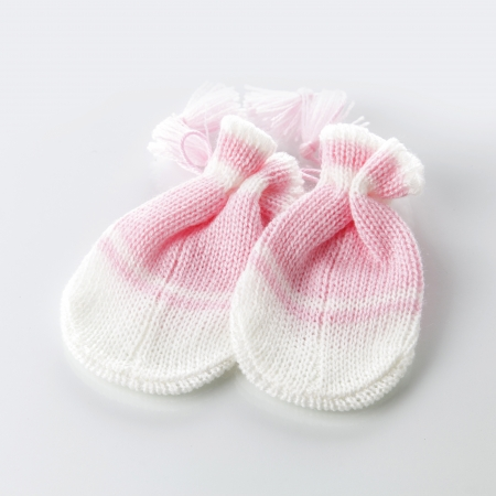 Baby gloves, Baby concept photo