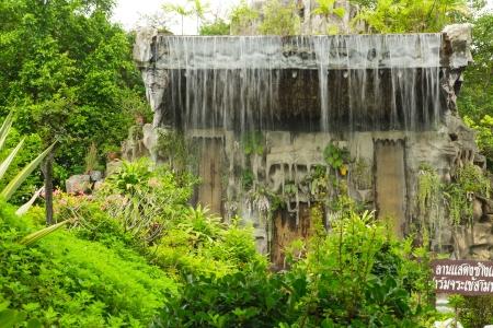 Waterfall in the garden Stock Photo - 21021229