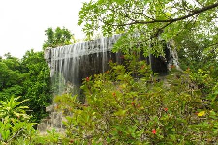 Waterfall in the garden Stock Photo - 21021233