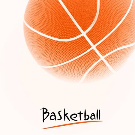 basketball background: Basketball