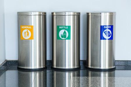 Three bins photo