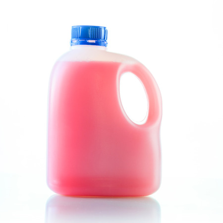 gallons: Gallons bottle of pink liquid
