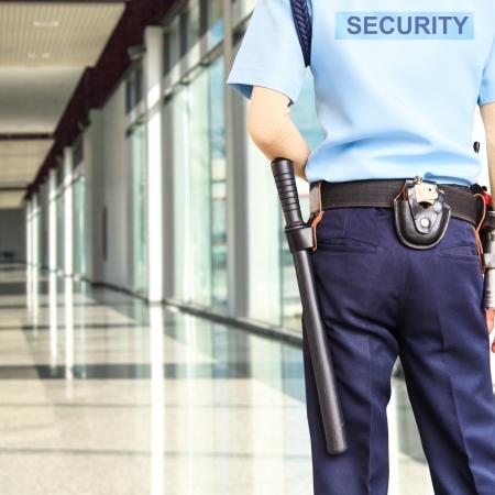 sauvegarde: Agent de s�curit� Banque d'images