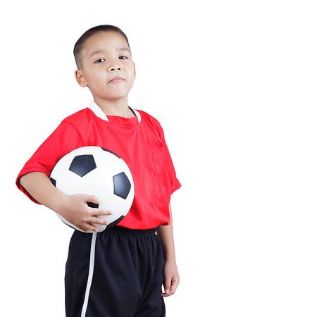 Joueur de football de l'enfant Banque d'images - 24063337