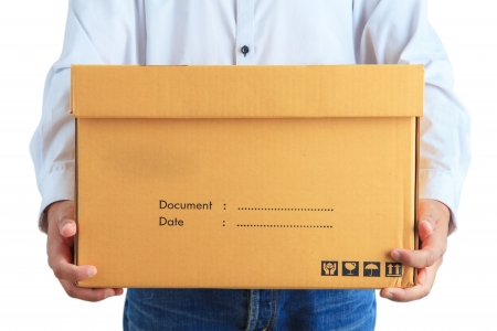 delivery man: Delivery man Stock Photo