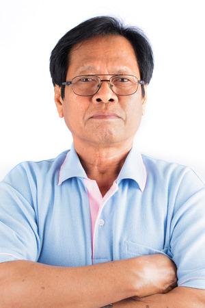 asian old man: Asian old man