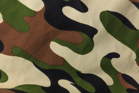 Camouflage fabric background photo