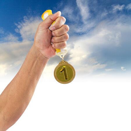 gold medal: Gold medal